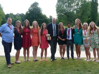 The team with Sir Steve Redgrave